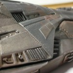 Serenity Paint Test - Close-up of portside neck